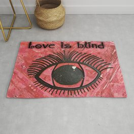 Love is Blind Rug
