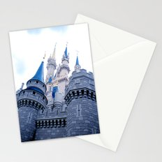 Disney Castle In Color Stationery Cards
