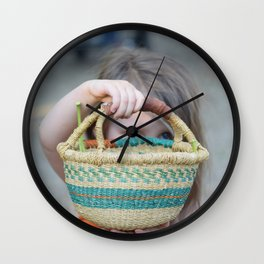 The Basket Wall Clock