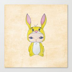 A Boy - Rabbit (coco lapin) Canvas Print