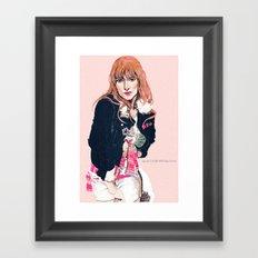 Oliva Wilde Framed Art Print