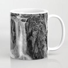 Black and White Beautiful Waterfall Mug