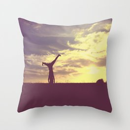 Cartwheel  Throw Pillow