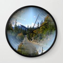 What road shall I take? Wall Clock