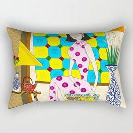 Shanghai Girl Rectangular Pillow
