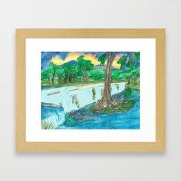 Cypress Creek Framed Art Print