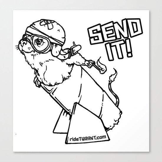 "TYRANT ""Send It"" Canvas Print"