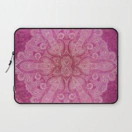 Big paisley mandala in raspberry Laptop Sleeve