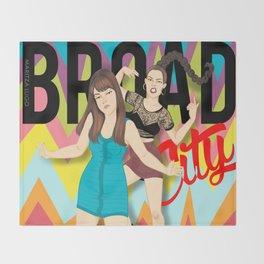 Broad City  Throw Blanket