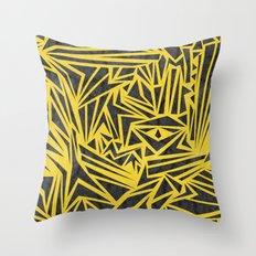 Vertigo Pattern Throw Pillow