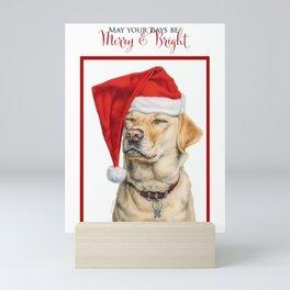 Merry And Bright Mini Art Print