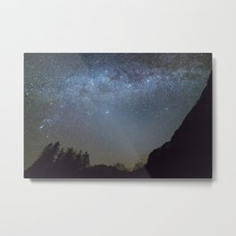 The Milky Way from Scotland Metal Print
