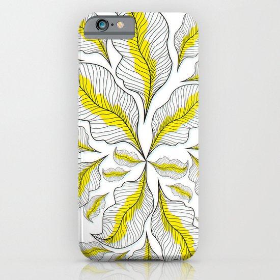 yellow---line iPhone & iPod Case