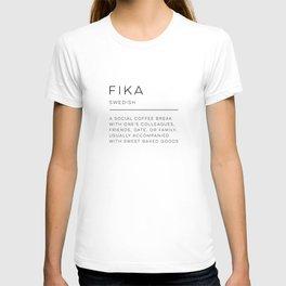 Fika Definition T-shirt