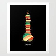 Apple Envy Art Print