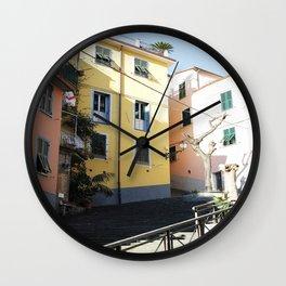 Little Homes. Wall Clock