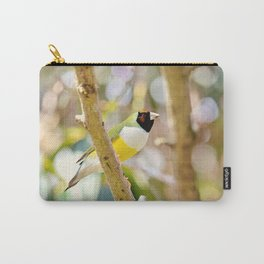 Peaceful Gouldian Carry-All Pouch