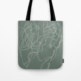 Layers of lost ends Tote Bag
