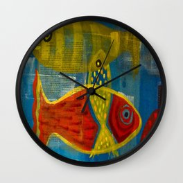 Part of a whole Wall Clock