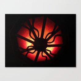 Spider Light Canvas Print