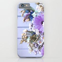 Pastel lilac bouquet iPhone Case