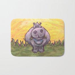 Animal Parade Hippopotamus Bath Mat