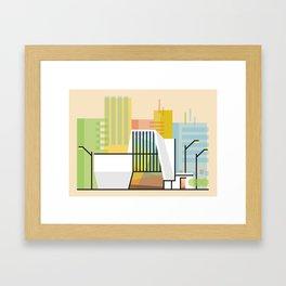 VCU ICA Framed Art Print