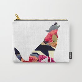 Loup du printemps-  Spring wolf Carry-All Pouch
