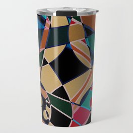 Abstraction. Curves and bends. Travel Mug