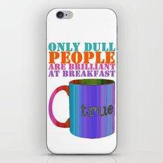 Oscar Wilde #5 Dull People iPhone & iPod Skin