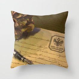 History of my family Throw Pillow