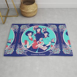 Women Artists (Creative Outlaws) Rug