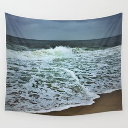 Cloudy Ocean Wall Tapestry