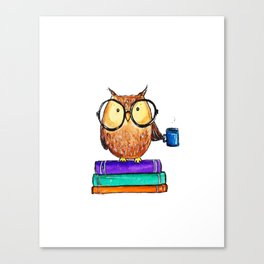 Oliver the Owl Canvas Print