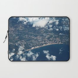 Barcelona from above Laptop Sleeve
