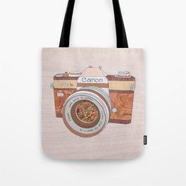 WOOD CAN0N Tote Bag