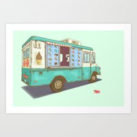 Ten Second Rule Art Print