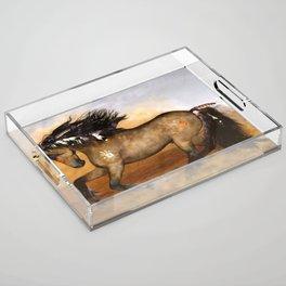 HORSE - Cherokee Acrylic Tray