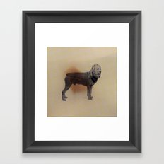 Two dogs and BOB Framed Art Print