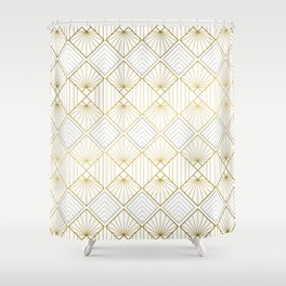 Art DECO - Mix & Match with Simplicity of Life Shower Curtain