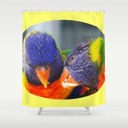 Feed me !! Shower Curtain