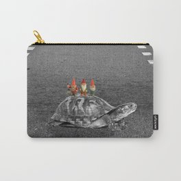 gnomes on a turtle Carry-All Pouch