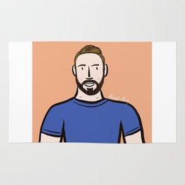 Beard Boy: Dillon Rug