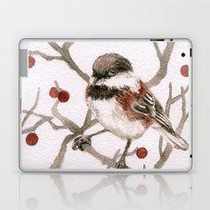 Chickadee & Berries Laptop & iPad Skin