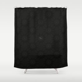 13 witch. witchcraft. sorceress, enchantress, occultist, necromancer, Wiccan; Shower Curtain