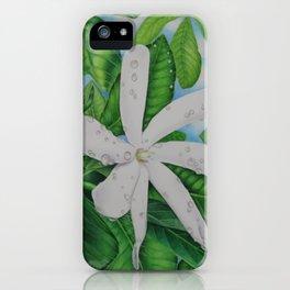 Tiare Tahiti iPhone Case