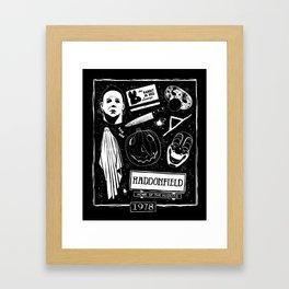 Welcome to Haddonfield! Framed Art Print
