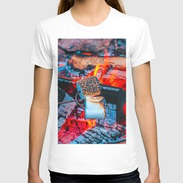Roasting Marshmallows by the Campfire T-shirt