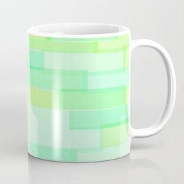 Brickwork Green Coffee Mug