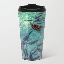 Duck and fish Metal Travel Mug